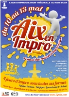 Festival international Aix-en-Impro, 5e édition